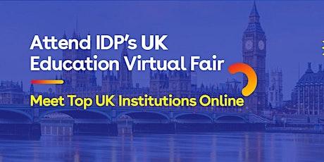 Attend IDP's UK Education fair in Vadodara- 25th Nov tickets