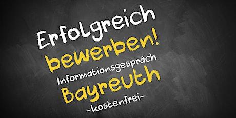 Bewerbungscoaching Online kostenfrei - Infos - AVGS Bayreuth Tickets