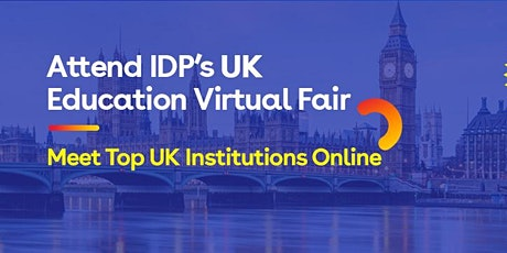 Attend IDP's UK Education fair in  Delhi - 26th Nov tickets
