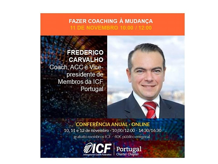 imagem Conferência Anual ICF PT Lead the future - Inspire Action, Impact Greatness