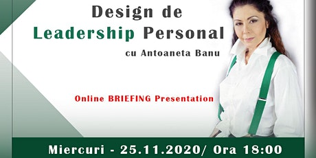 Design de Leadership Personal tickets