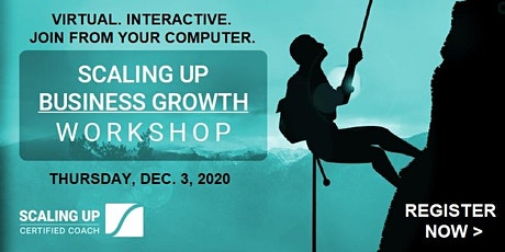 Online Scaling Up Business Growth Workshop tickets