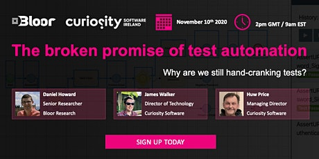 The broken promise of test automation: why are we still hand-cranking tests tickets