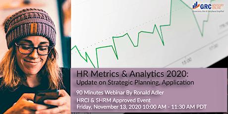 HR Metrics & Analytics 2020-21: Update on Strategic Planning, Application tickets
