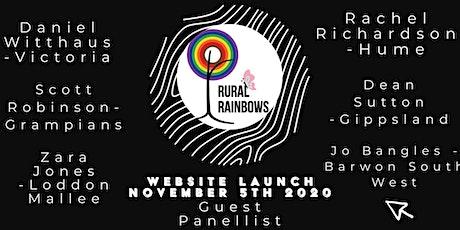 Rural Rainbows Website Launch tickets