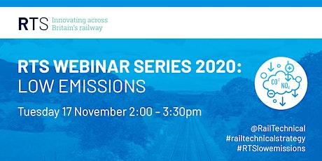 RTS Webinar Series 2020 | Low Emissions tickets