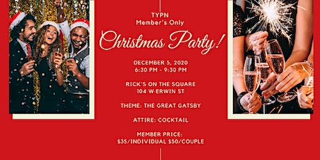 Tyler Young Professionals Network Christmas Party December 5 tickets