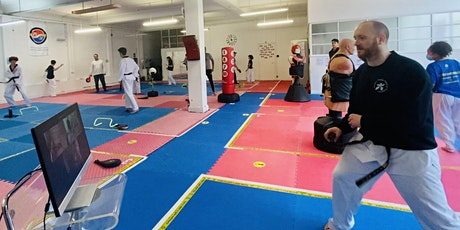 Saturday: Mixed Ability Adults & Advanced Children Taekwondo (Face-to-face) tickets