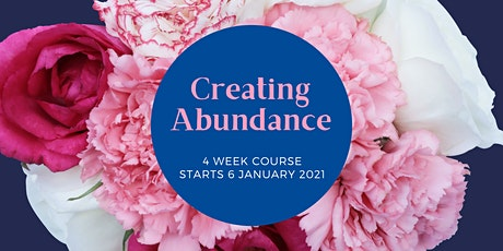 Refigure: Creating Abundance  4 week course - Jan 2021 tickets