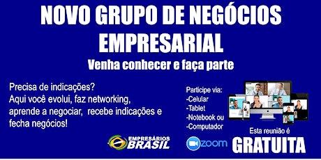 Convite para integrar ao novo grupo empresarial focado em NEGOÓCIOS ingressos