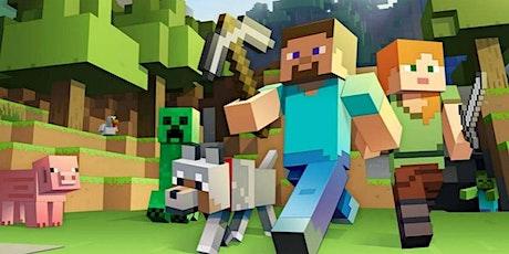 Aula Experimental de Minecraft (presencial Happy Code Campo Ourique) bilhetes