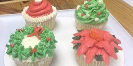 Christmas Cupcake Decorating Class tickets