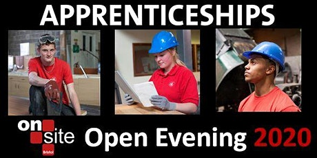 On Site Bristol Construction Apprenticeships Online Open Evening tickets