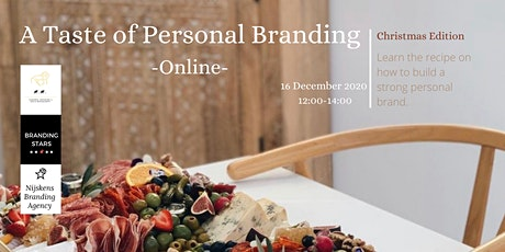 A Taste of Personal Branding [Online] - Christmas Edition tickets