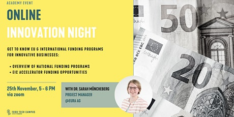 Online Innovation Night Tickets