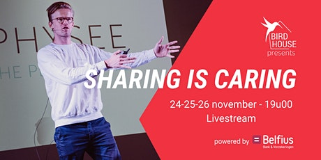 Sharing is Caring  - powered by Belfius tickets