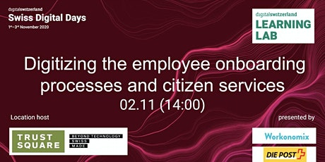 Digitizing the employee onboarding processes and citizen services