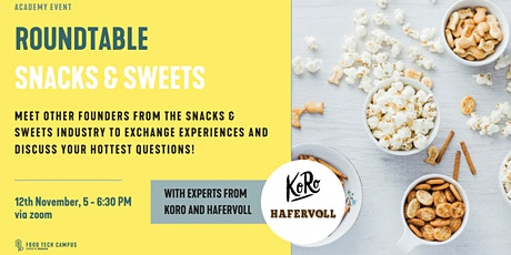 Online Roundtable Snacks & Sweets tickets