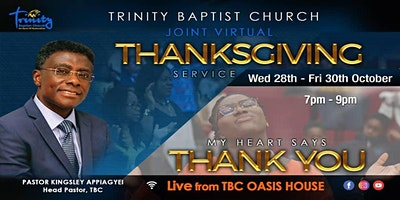 Afternoon Family Worship Service At TBC~Croydon