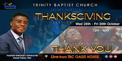 2nd Afternoon Family Worship Service  At TBC~West Norwood (In Akan)