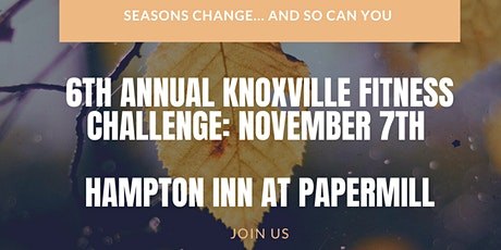 6th Annual Knoxville Fitness Challenge Program tickets