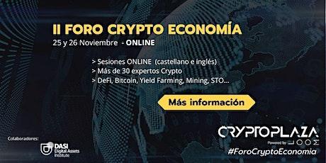 II Foro Crypto Economía entradas