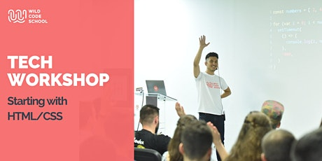 Online Tech Workshop - Starting with HTML/CSS tickets