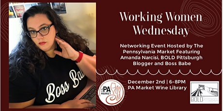 Working Women Wednesday with Amanda Narcisi tickets