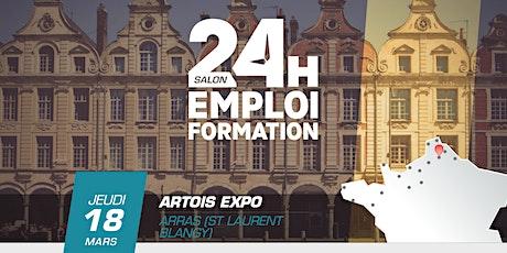 24 heures pour l'emploi et la formation - Arras 2021 billets