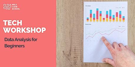 Online Tech Workshop - Data Analysis for Beginners tickets