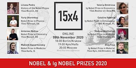 15x4 World: Nobel & Ig Nobel Prizes 2020 tickets