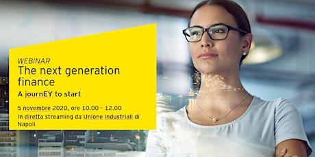 The next generation finance biglietti