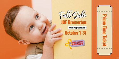 Prime Time Presale Ticket | JBF Bremerton MINI POP 20 tickets