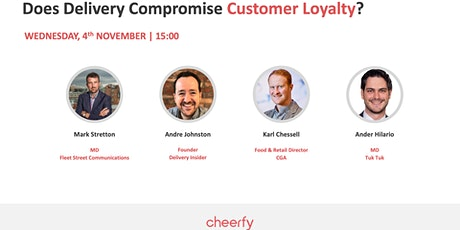 Does delivery compromise customer loyalty? tickets