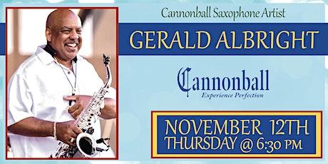 Gerald Albright Saxophone Clinic entradas
