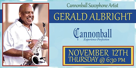 Gerald Albright Saxophone Clinic tickets