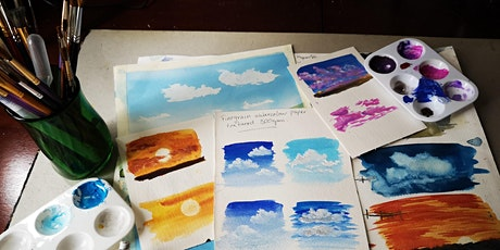 Painting Skies using Watercolours and Gouache tickets