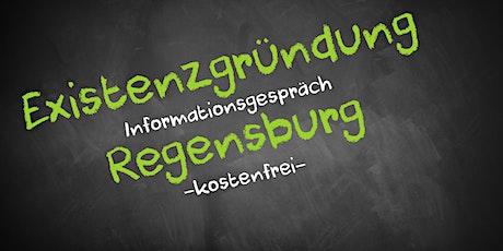 Existenzgründung Online kostenfrei - Infos - AVGS Regensburg Tickets