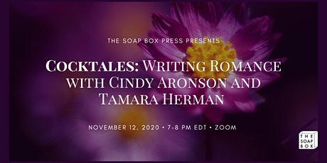Cocktales: Writing Romance with Cindy Aronson and Tamara Herman tickets