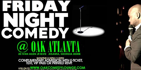 Friday Night Comedy @ Oak Lounge tickets
