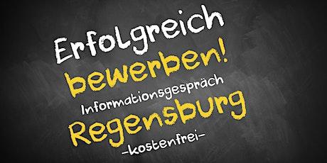 Bewerbungscoaching Online kostenfrei - Infos - AVGS  Regensburg Tickets