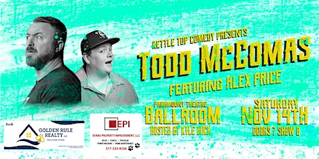 Kettle Top Comedy Presents: Todd McComas tickets
