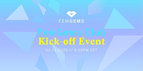FemGems Club Kick-Off Event tickets