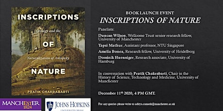 Inscriptions of Nature: Book Launch Part II tickets