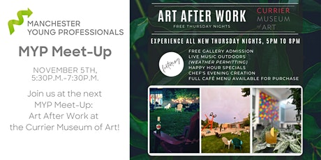MYP Meet-Up: Art After Work at the Currier Museum of Art tickets