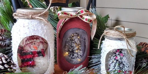 Mason Jar Holiday Craft