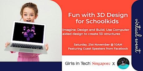 GITSG School Holiday - 3D Design tickets