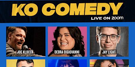 KO Comedy Live on Zoom: Sunday, November 1st, 2020 tickets
