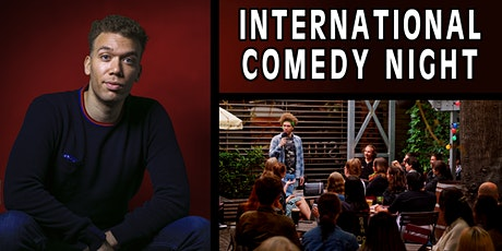 POSTPONED: International English Comedy Night Tickets