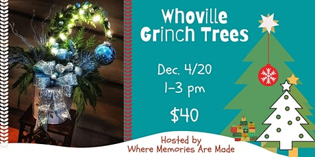 Whoville Grinch Tree Workshop tickets